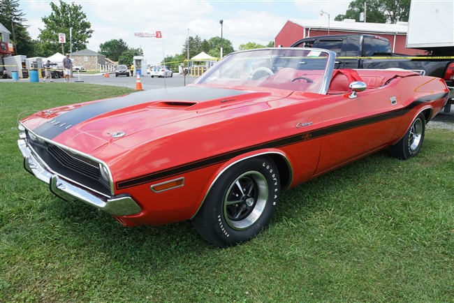 1st Place, E-body Convertible: 1970 Challenger Convertible, Owned by Michael Rosier, Sykesville, MD